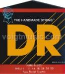 DR PHR11 Pure Blues Nickel Heavy Electric Guitar Strings 11-50