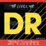 DR ZAE Zebra Electric-Acoustic Guitar Strings