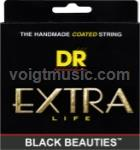 DR BKE Black Beauties Coated Electric Guitar Strings