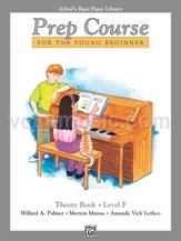 Alfred's Basic Piano Prep Course - Theory - Book F