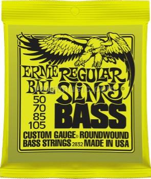 2832 Ernie Ball Bass Guitar Strings - Regular Slinky 50-105