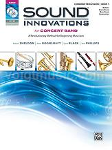 Percussion (Combined) Bk 1 - Sound Innovations for Concert Band