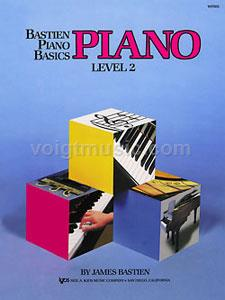 Bastien Piano Basics - Level 2 Lesson
