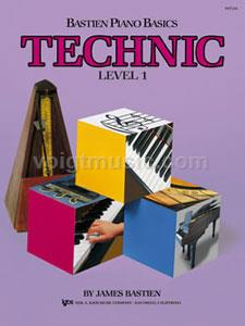 Bastien Piano Basics - Level 1 Technic
