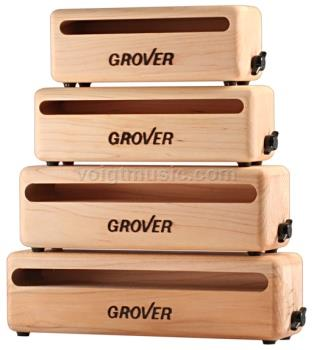 "Grover WB9 9"" Rock Maple Woodblock"