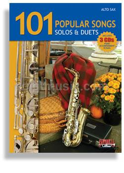 101 Popular Songs for Alto Sax - Solos & Duets