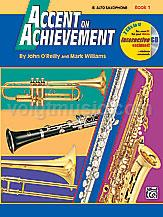 Alto Sax - Accent on Achievement - Book 1
