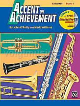 Accent on Achievement - Clarinet - Book 1