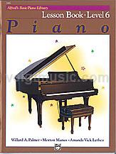 Alfred's Basic Piano Library - Lesson Book - 6