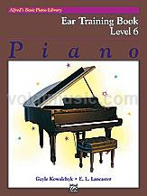 Alfred's Basic Piano Library Ear Training Book 6