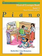 Alfred's Basic Piano Course: Musical Concepts Book 3