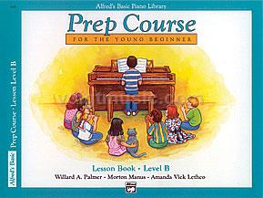 Alfred's Basic Piano Prep Course - Lesson Book - B