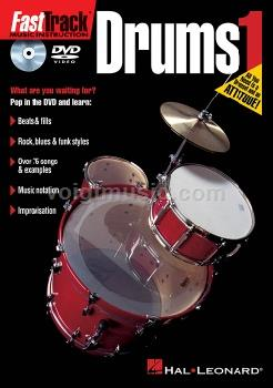 FastTrack Drums Method 1 DVD