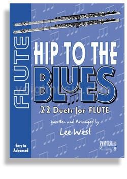 Hip to the Blues Jazz Duets w/ CD - Flute