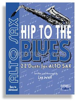 Hip to the Blues Jazz Duets w/ CD - Alto Sax
