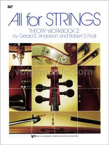 All for Strings - Violin- Theory Workbook - Book 1