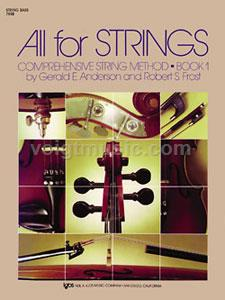 All for Strings - String Bass - Book 1